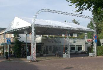 Truss tent 10x20